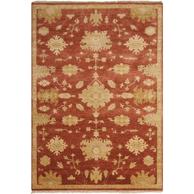 Geil Persimmon Area Rug Rug Size: Rectangle 56 x 8