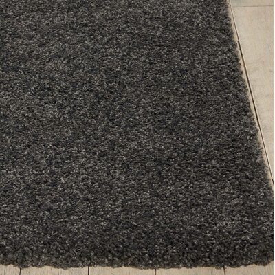 Parrish Dark Gray Area Rug Rug Size: Round 4