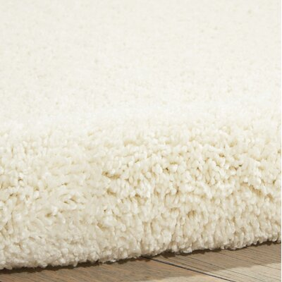 Parrish Ivory Area Rug Rug Size: Runner 22 x 91