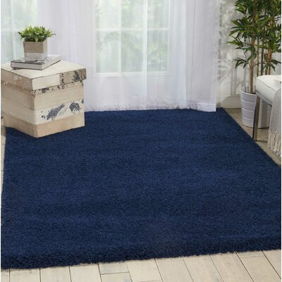 Parrish Navy Area Rug Rug Size: Runner 22 x 91