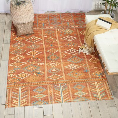 Wilkerson Sunset Area Rug Rug Size: Rectangle 36 x 56