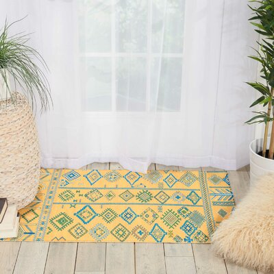 Wilkerson Saffron Area Rug Rug Size: Rectangle 36 x 56