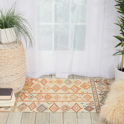 Wilkerson Ivory Area Rug Rug Size: Rectangle 36 x 56