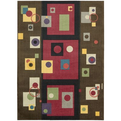 Shubhika Chestnut Rug Rug Size: Rectangle 4 x 6