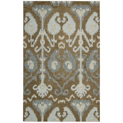 Siam Hand-Tufted Mocha Area Rug Rug Size: Runner 23 x 76