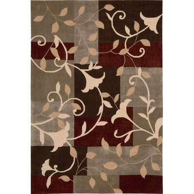 Kelsey Hand-Tufted Mocha Area Rug Rug Size: Rectangle 8 x 106