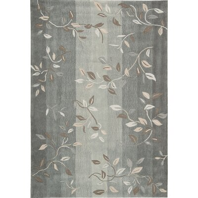 Brittni Hand-Tufted Stone Area Rug Rug Size: Rectangle 8 x 106