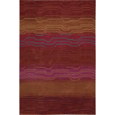 Newbury Hand-Tufted Sunburst Area Rug Rug Size: Rectangle 73 x 93