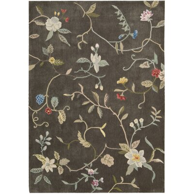 Williston Hand-Tufted Tobacco Area Rug Rug Size: Rectangle 5 x 76