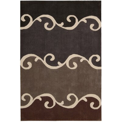 Kelsey Mocha Rug Rug Size: Rectangle 73 x 93