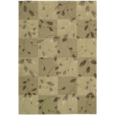 Kelsey Hand-Tufted Carmel Area Rug Rug Size: Rectangle 36 x 56