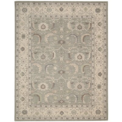 Deeksha Green Tea Area Rug Rug Size: Rectangle 26 x 43