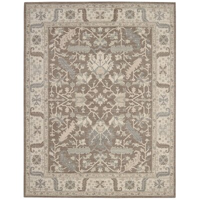 Deeksha Fawn Area Rug Rug Size: Rectangle 26 x 43