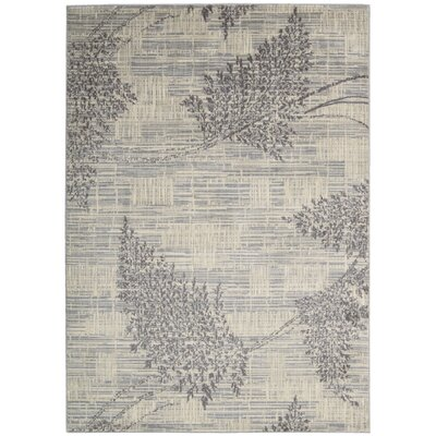 Hassie Champagne Area Rug Rug Size: Rectangle 53 x 75