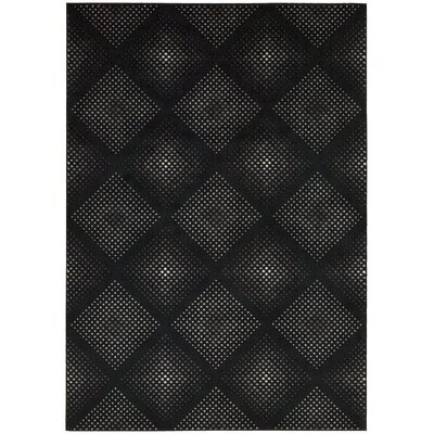 Kaiti Onyx Area Rug Rug Size: Rectangle 26 x 42