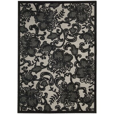 Christena Pewter Area Rug Rug Size: Rectangle 36 x 56
