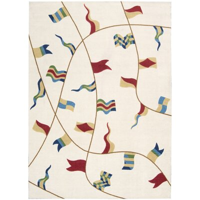 Thatcher Ivory Area Rug Rug Size: Rectangle 5 x 7