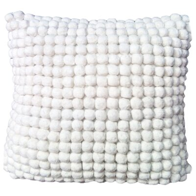 Pom Pom Cotton Throw Pillow