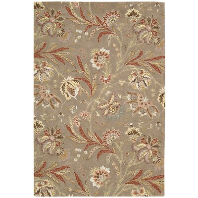 Elderton Hand-Tufted Mocha Area Rug Rug Size: Rectangle 39 x 59