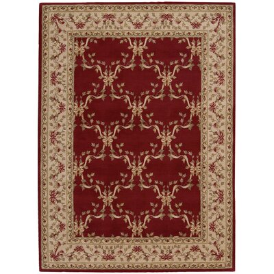 Fairchild Burgundy Area Rug Rug Size: Rectangle 2 x 29