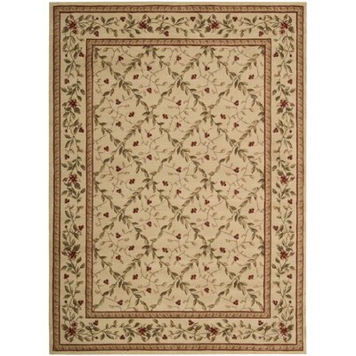 Fairchild Beige Area Rug Rug Size: Rectangle 56 x 75