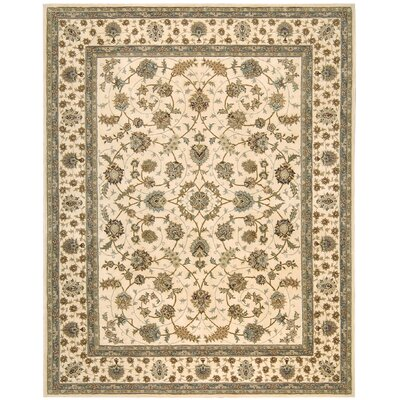Ellerswick Hand Woven Wool Beige Indoor Area Rug Rug Size: Rectangle 79 x 99