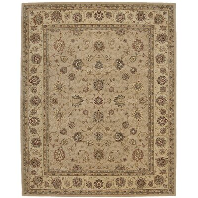2000 Hand Woven Wool Brown Indoor Area Rug Rug Size: 99 x 139