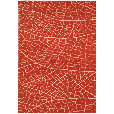 Imhoff Hand-Tufted Red Area Rug Rug Size: Runner 23 x 8