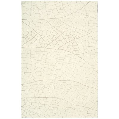 Imhoff Hand-Tufted Ivory Area Rug Rug Size: Rectangle 8 x 106
