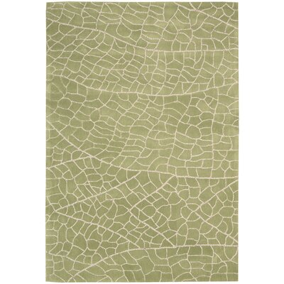 Imhoff Hand-Tufted Kiwi Area Rug Rug Size: Rectangle 39 x 59