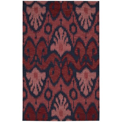 Siam Red Area Rug Rug Size: 56 x 75