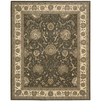 Ellerswick Hand Woven Wool Slate Indoor Area Rug Rug Size: Rectangle 39 x 59