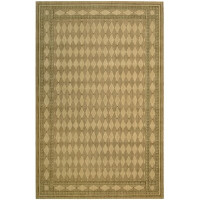 Lourdes Honey Area Rug Rug Size: 36 x 56