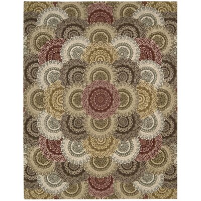 Dunbury Hand Woven Wool Beige/Gray Indoor Area Rug Rug Size: Rectangle 79 x 99