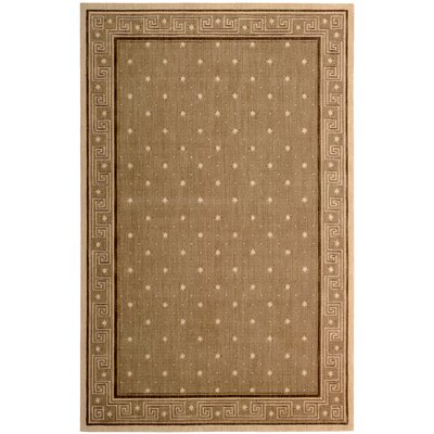 Dunnstown Chestnut Area Rug Rug Size: Rectangle 36 x 56