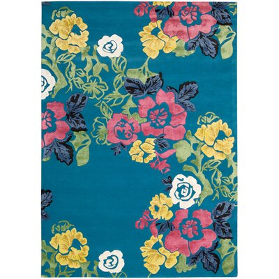 Wildflowers Area Rug Rug Size: 8 x 11