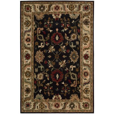 Tahoe Hand-Knotted Black Area Rug