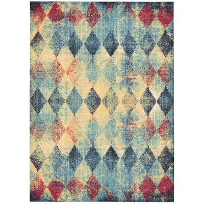 Trisha Area Rug Rug Size: Rectangle 26 x 4