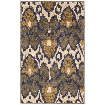 Duarte Beige/Gray Outdoor Rug Rug Size: Rectangle 23 x 39