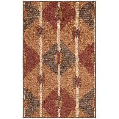 Duarte Brown Outdoor Rug Rug Size: Rectangle 79 x 10