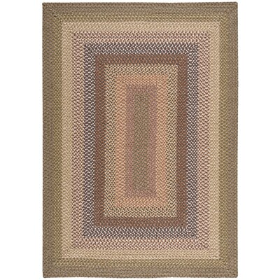 Dray Hand-Woven Beige/Brown Area Rug Rug Size: Rectangle 23 x 39