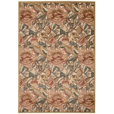 Burnham Brown Area Rug Rug Size: Rectangle 36 x 56