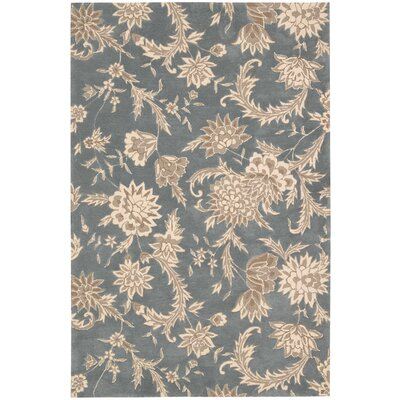 Elderton Hand-Tufted Slate Area Rug Rug Size: Rectangle 8 x 106