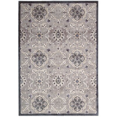 Talanna Gray Area Rug Rug Size: Rectangle 53 x 75