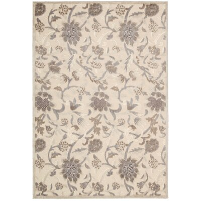 Talanna Ivory Area Rug Rug Size: Rectangle 36 x 56