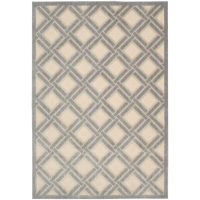 Padgett Ivory Area Rug Rug Size: Rectangle 53 x 75