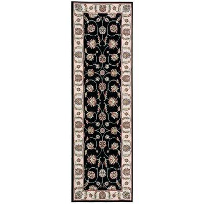 Modesto Black Area Rug Rug Size: Runner 22 x 73