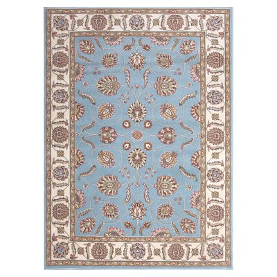 Shalyce Blue Area Rug Rug Size: Rectangle 53 x 73