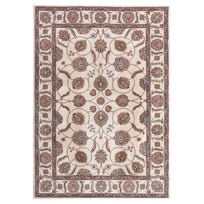 Meriwether Beige/Brown Area Rug Rug Size: Rectangle 710 x 106