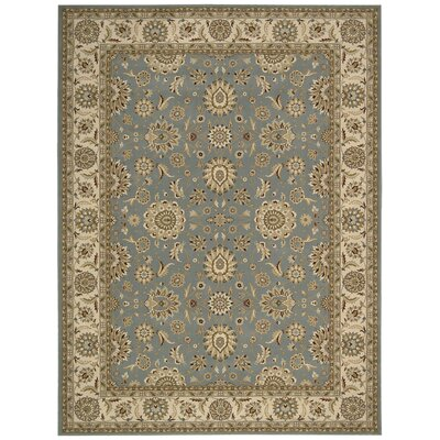 Persian Crown Blue/Brown Area Rug Rug Size: 710 x 106